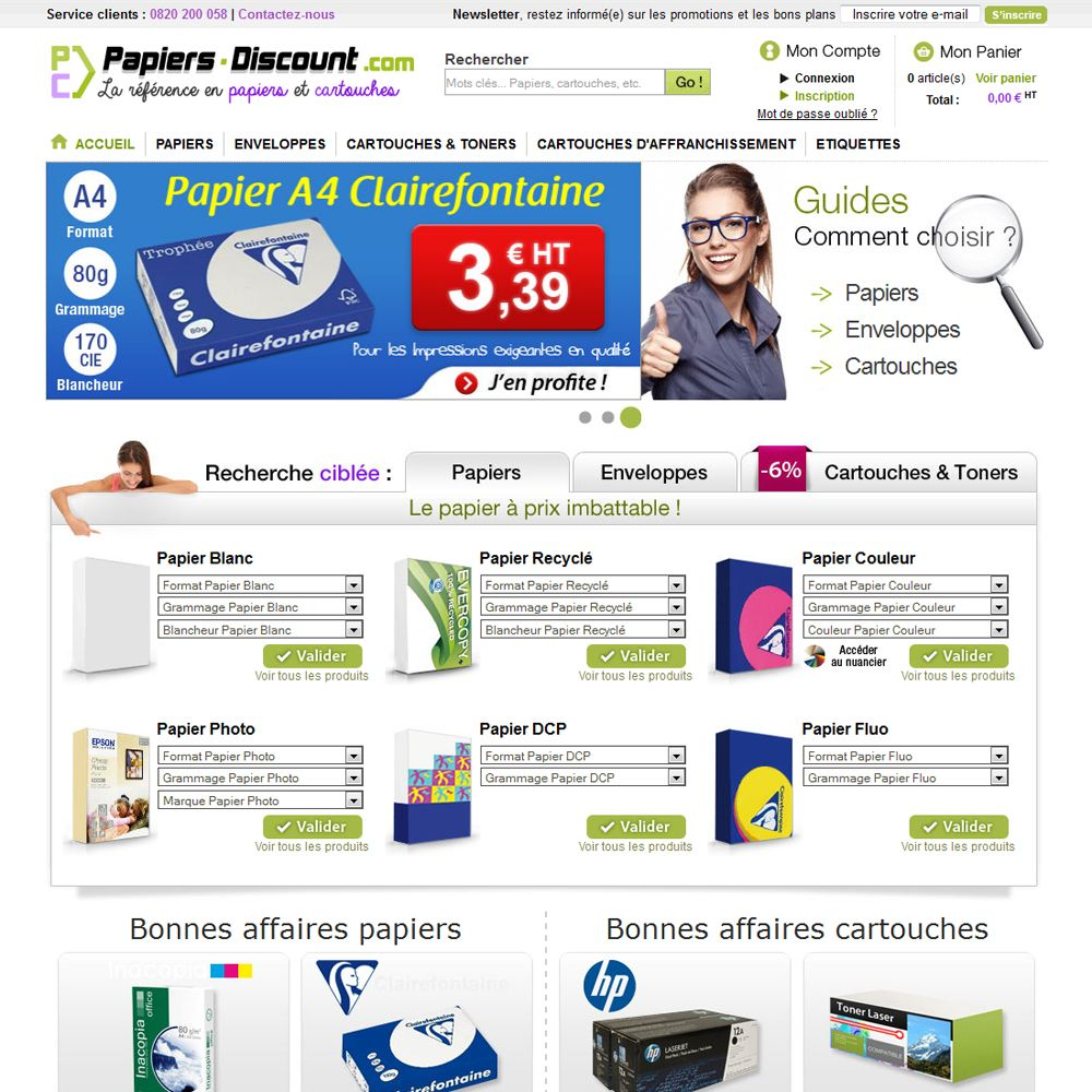 www.papiers-discount.com